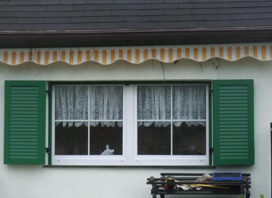 maßgefertigte ALU-Fensterläden