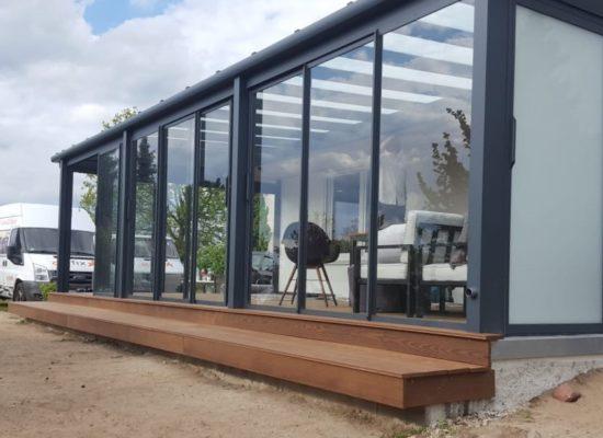 Neue Terrasse nur mit OLE-fix
