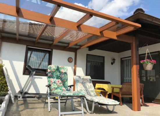OLE-fix Terrassenüberdachung Glas & Aluminium