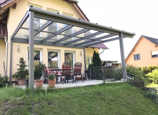 OLE-fix Tarrassenüberdachung Glas & Aluminium