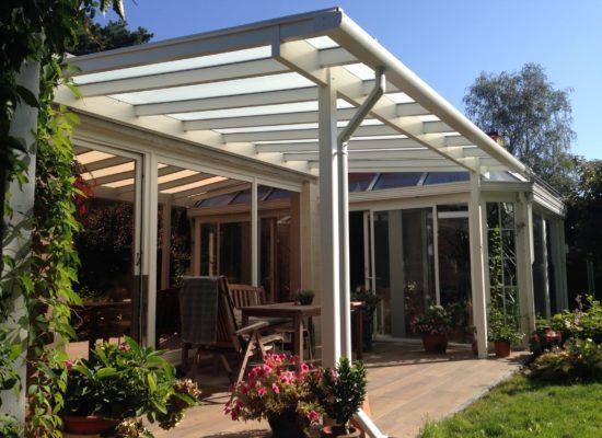 OLE-fix Terrassenüberdachung Aluminium OLE-fix Tarrassenüberdachung