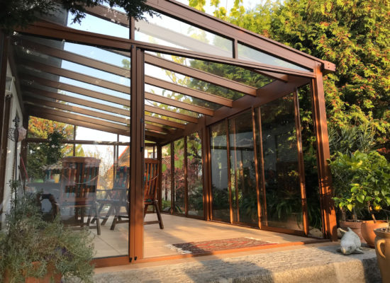 OLE-fix Terrassenüberdachung Maßanfertigung aus eigener Produktion