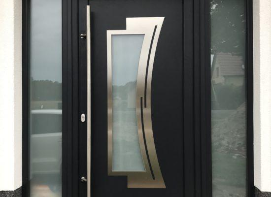 Haustür im modernden Design immer mit OLEfix