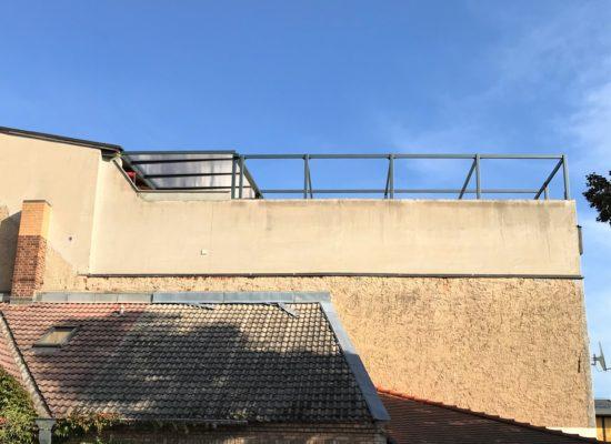 Dachterrasse in Lübben