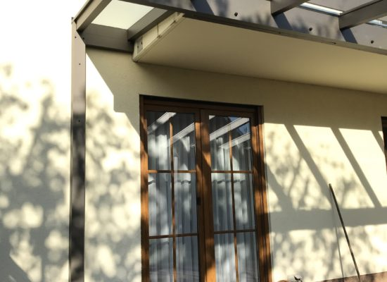 Balkonmontage