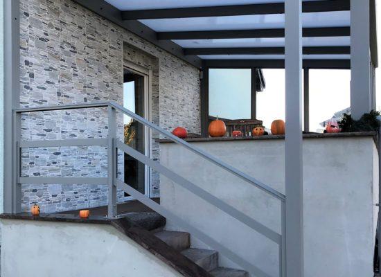 Treppengeländer ALU mit Handlauf, Cottbus