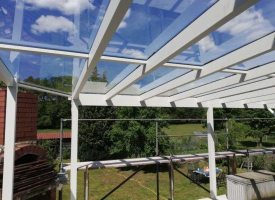 Terrassendach-Projekt in Finsterwalde