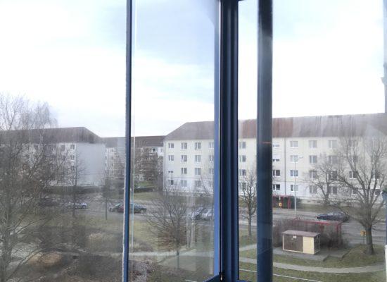 OLEfix Balkonverglasung an einer Mietwohnung Innenansicht R
