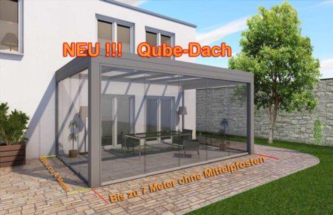 Neu!!! Qube-Dach, bis zu 7 Meter ohne Pfosten