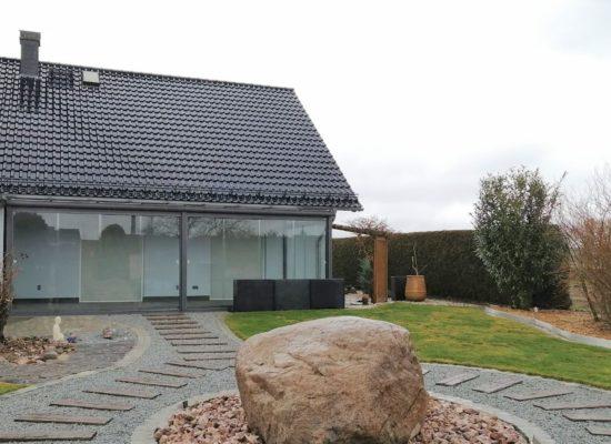 Sommergarten Glas-Oase