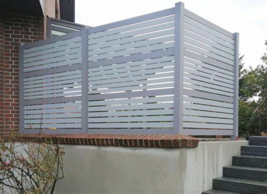 Sichtschutz für die Terrasse
