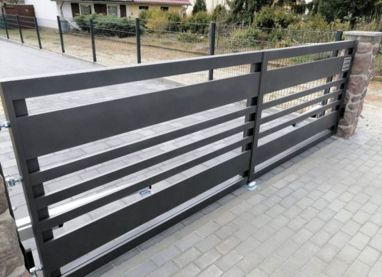 modernes Design Alu-Tor, Brandenburg Sachsen