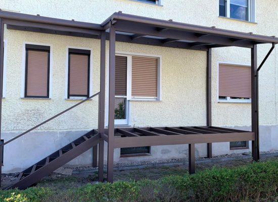 ALU-Balkon Grundkonstruktion