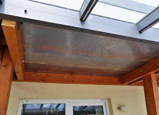 Balkonverkleidung mit ALU-Lochblech