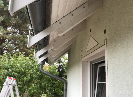 Vormontage Dachsparrenhalter