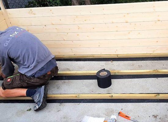 Bautenschutz für Holzkonstruktion