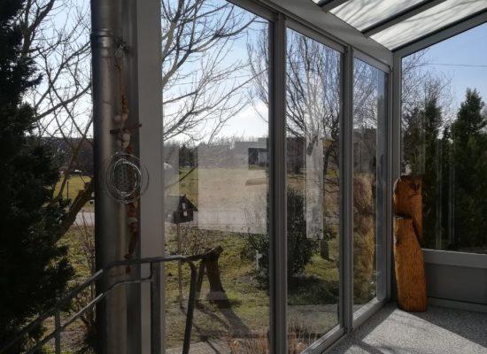 Scheiben nachrüsten in Heim&Haus-Vordach, günstig, stabil
