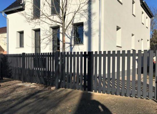 Lattenzaun ALU Cottbus - Südbrandenburg