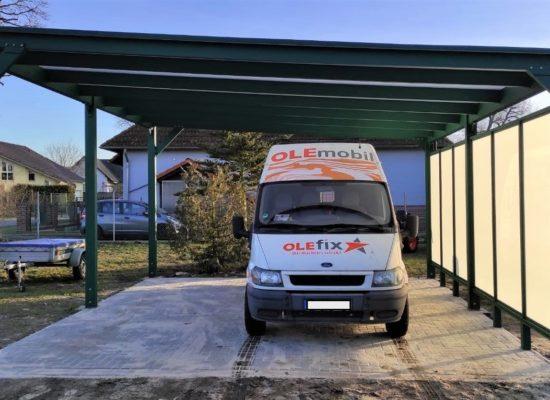 ALU-Carport für Wohnmobile, Brandenburg - Sachsen